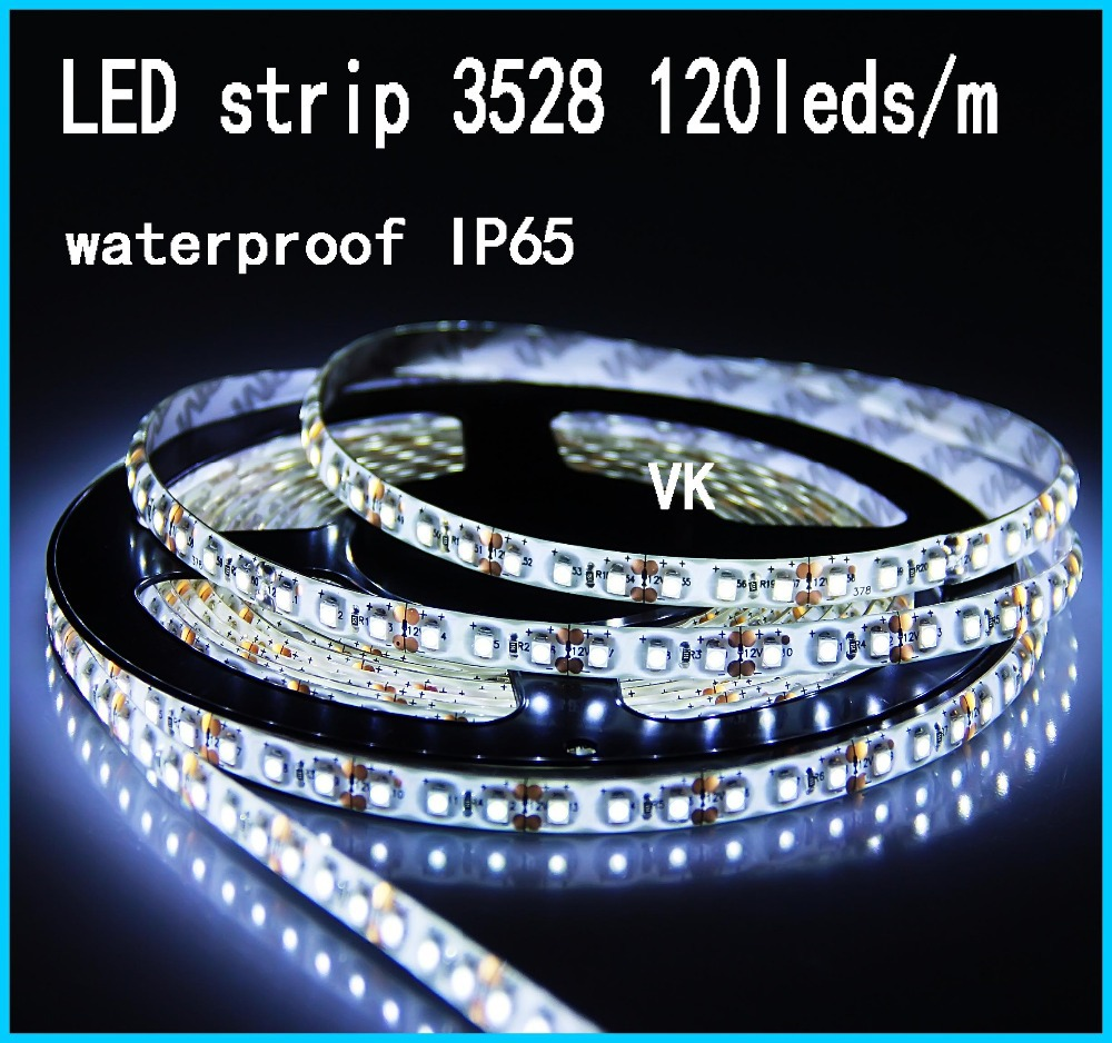 5m/lot LED strip light SMD 5050 water proof IP65 DC12V flexible light 60 leds/m Warm White,White,Green,Blue,Red,Yellow,RGB(China (Mainland))