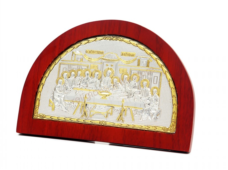2016 religious supplies orthodox church icons for sale Semicircle religious item The Last Supper jesus home decor high quality(China (Mainland))
