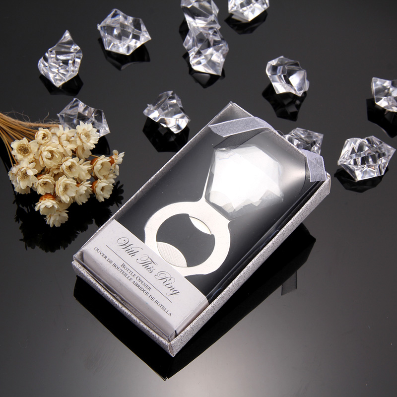 creative crystal diamond stainless steel wine bottle opener wedding favor promotion gift free. Black Bedroom Furniture Sets. Home Design Ideas