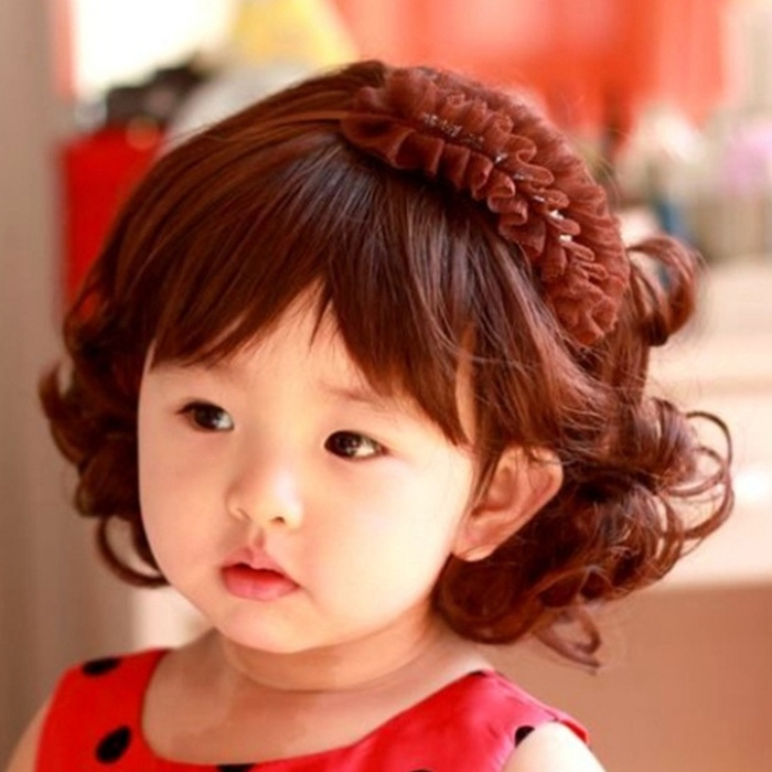toddler girl with curly brown hair wwwimgkidcom the