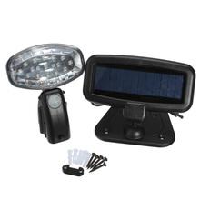Lumineux 15 LED Solar Power Motion Sensor de sécurité PIR energie Spot luminaire Graden chemin accueil(China (Mainland))