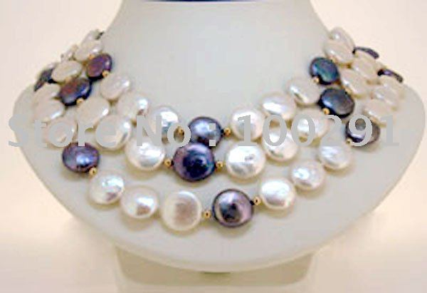 Factory direct sale//Fashion wedding&life&party&gift Costume Womens' Jewelry Elegant New Style Freshwater Pearl Necklace Set(China (Mainland))