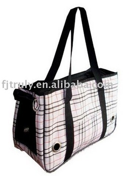 Free shipping Cute Pet Carrier Bag with Beige Color