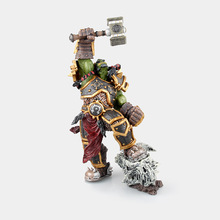 26cm Popular Online Games Garage Kits WOW Frostwolf Clan Chief Thrall Action Figure ORC Shaman Thrall Model