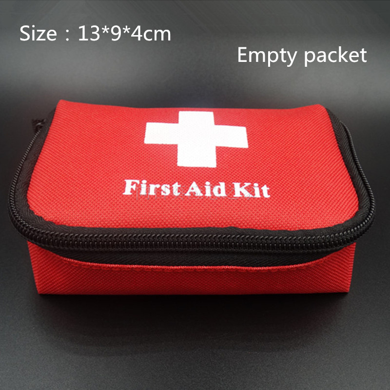 Гаджет  Empty packet   Travel Camping Medical Emergency First Aid Kit Survival Bag Treatment Pack Set Home Wilderness Survival 13*9*4cm None Безопасность и защита
