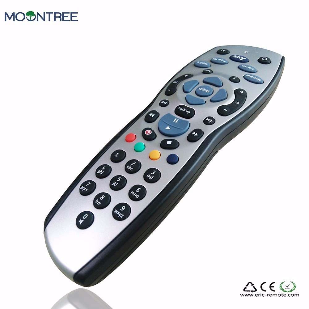 [HIGH QUALITY] HOT SALE NEW ABS SKY+ PLUS HD REMOTE CONTROL WITH NICE LOOK FOR UK MARKET(China (Mainland))