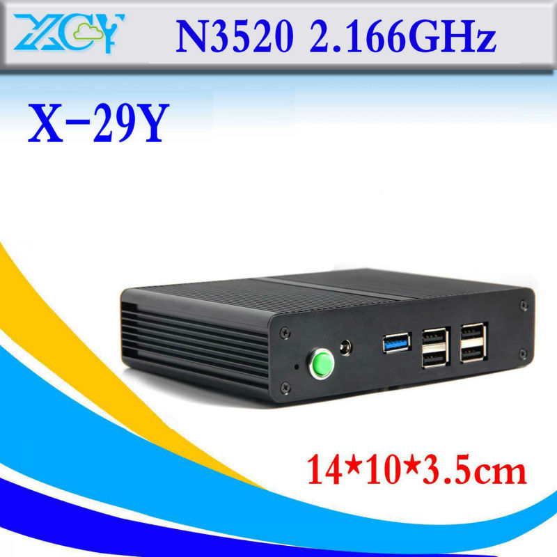 Best quality x-29y Intel Celeron N3520 barebone computer micro industrial pc mini Computer station thin client support HD video<br><br>Aliexpress