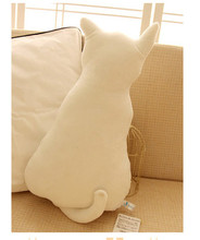 Japanese new creative alice back cat pillow cushion cat back plush toy doll cat stuffed animal doll