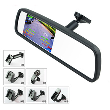 """Original Special Bracket 4.3"""" TFT LCD Color Car Rearview Mirror Monitor for Car Parking Rear View Assistance System(China (Mainland))"""