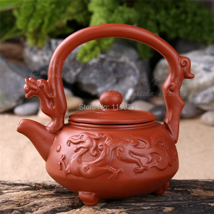 Посуда Tea pot 2015 Yixing Zisha 120 teapot the direct origin of yixing yixing tea wholesale high hand carved pattern store tank mixed batch