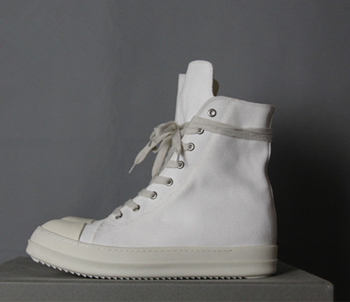 16SS  Diablo Pioneer ro Classical TPU Sole DRSK Full White Canvas zipper Hip-hop men RO Boot SIZE38-44