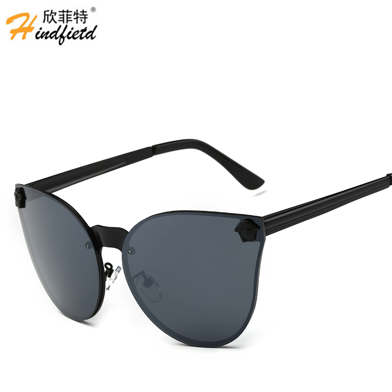 mens designer glasses ute0  Hindfield Retro Mens Sunglasses Brand Designer Reflective Shades Sunglass  for men Fashion Sun Glasses Male Eyewear UV400 Oculos