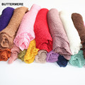 Newborn Photography Props Stretch Baby Wraps Mohair Unisex Infant Blanket Cotton Knit Soft Studio Props Photography