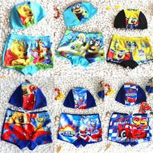 2016 new style kid boys swimwear trunks shorts cartoon swimming suit baby beach clothing boy swimsuit cute clothes(China (Mainland))