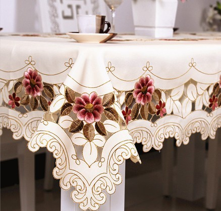 """210# square 130cm/51"""" hot sale waterproof house design tablecloth table mat table cover wholesale(China (Mainland))"""