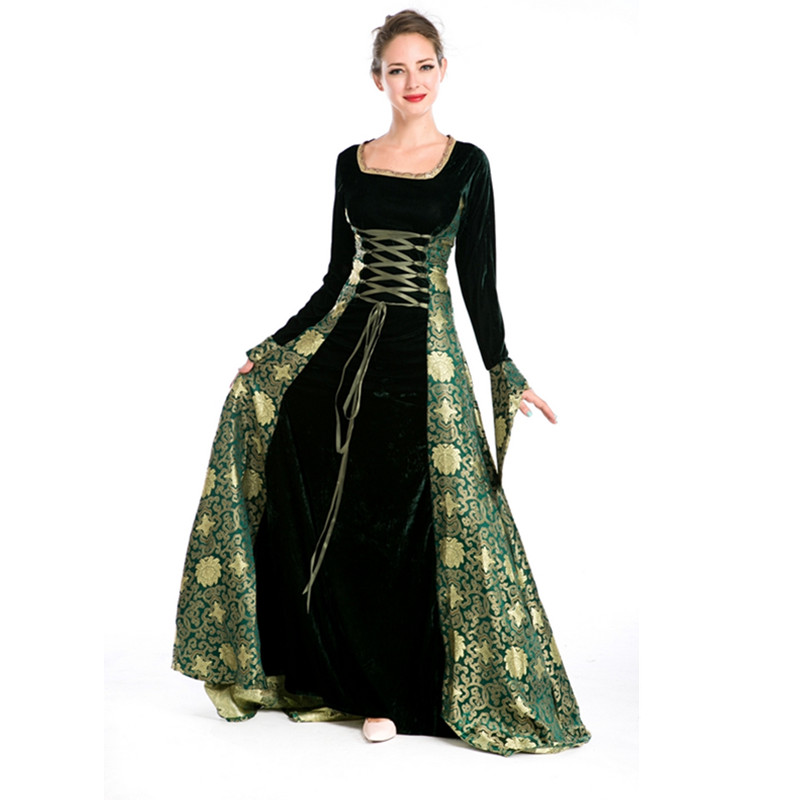 Model Ladies Layered Medieval Dress  FX1108 By Medieval Collectibles