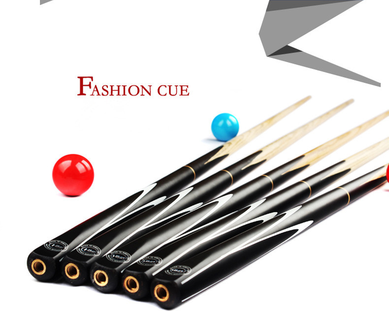 FREE SHIPPING BY DHL Small head suit snooker cue stick black 8 articles potts American black eight(China (Mainland))