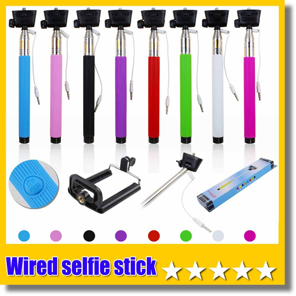 update version groove 150pcs z07 5s wired selfie stick audio cable take pole. Black Bedroom Furniture Sets. Home Design Ideas
