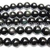 5 strip 6mm 70pcs/strip China post air mail Free shipping round hematite beads fit Shamballa Bracelet(China (Mainland))