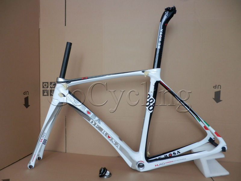 2014 De Rosa 888 Superking full carbon Toray Carbon fiber Road Racing bike frames bicycle frames(China (Mainland))