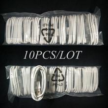 Лучшая Цена 10 шт лот Белый 8Pin USB Синхронизация Данных Зарядное Устройство Micro Usb Шнуров и