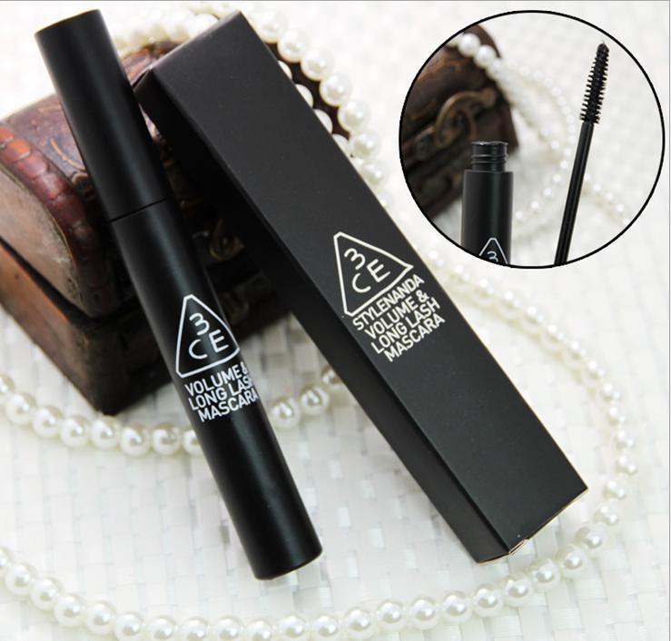 Water is lengthening mascara thick waterproof lasting blooming color lock eyes easy remover makeup(China (Mainland))