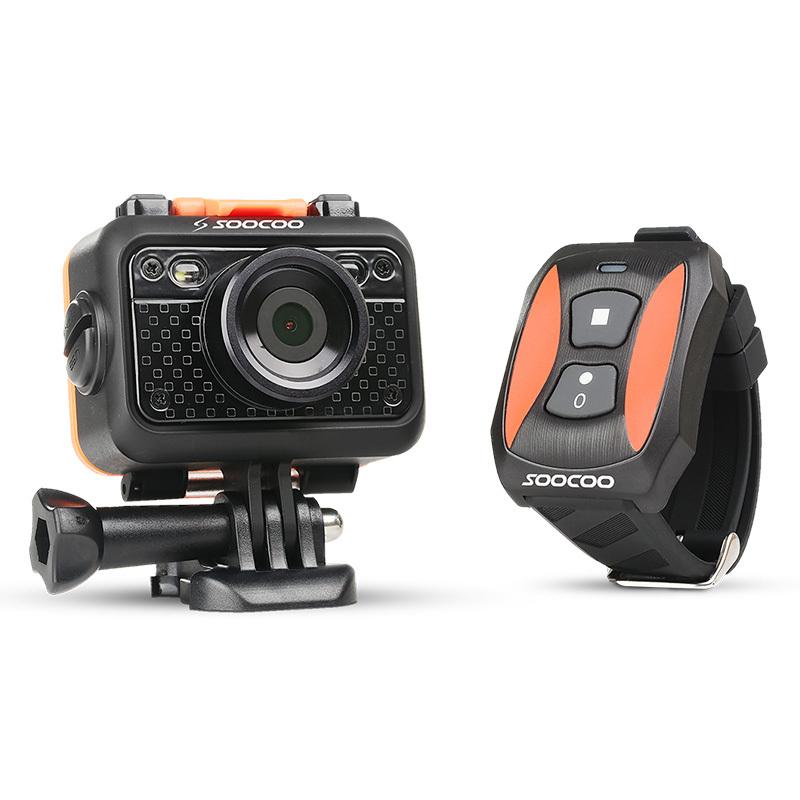"Original SOOCOO S60 1080P Sports Action Video Camera Waterproof 60m SOS Anti- Shake 170 Degree Wide Angle WiFi 1.5 "" LCD Camera(China (Mainland))"