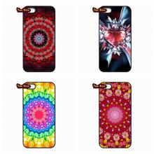 Fashion Mandala Flower Cell Phone Cover Case Samsung Galaxy 2015 2016 J1 J2 J3 J5 J7 A3 A5 A7 A8 A9 Pro - New Cases store