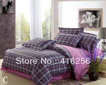 100%COTTON 4pcs bed set/bedding sets: Quilt cover*1pc,Sheet*1pc,Pillowcase*2pcs*China famous brand*