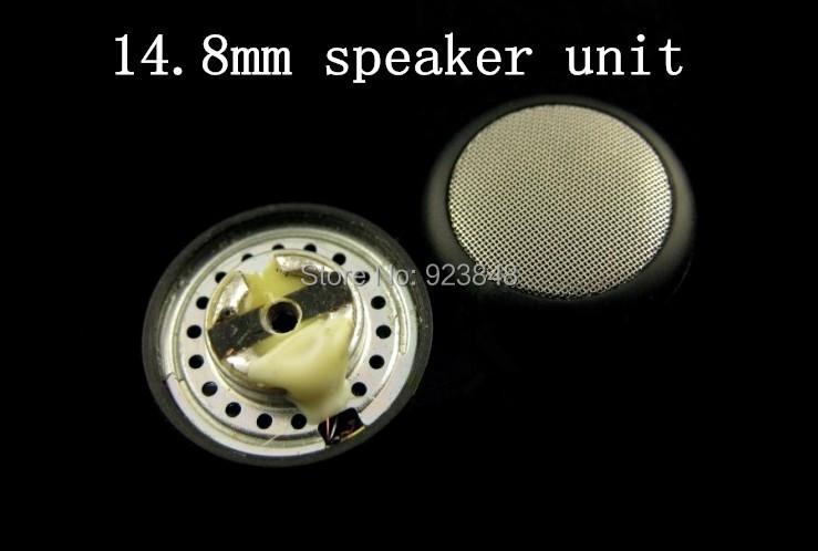 DIY fever 14.8mm speaker unit HIFI Metal mesh Copper ring neodymium magnet(China (Mainland))