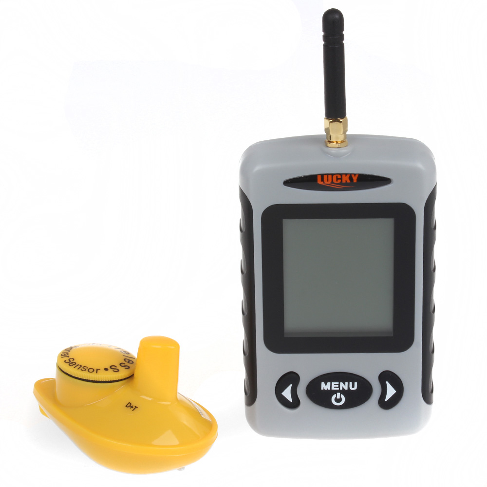 Free Shipping!Lucky FFW718 Wireless Portable Fish Finder 40M/120FT Sonar Depth Sounder Alarm Ocean River Lake<br><br>Aliexpress