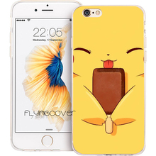 Buy Coque Pikachue Clear Soft TPU Silicone Phone Cover iPhone 7 7Plus Case iPhone 5S 5 SE 6 6S 6Plus 4S 4 Case Fundas Capa. for $5.95 in AliExpress store