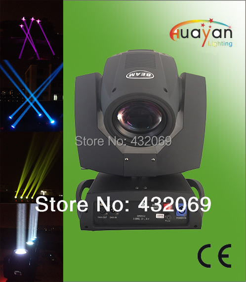 Chinese Model:Good Qaulity 230W OSRAM 7R Beam Moving Head Light,16/20 DMX Channels,LED Display(China (Mainland))