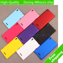 Buy Sony Xperia T3 M50w D5102 Ultra Thin Scrub Phone Shell Frosted Plastic Matte Hard Back Case Cover Protective Shell for $1.62 in AliExpress store