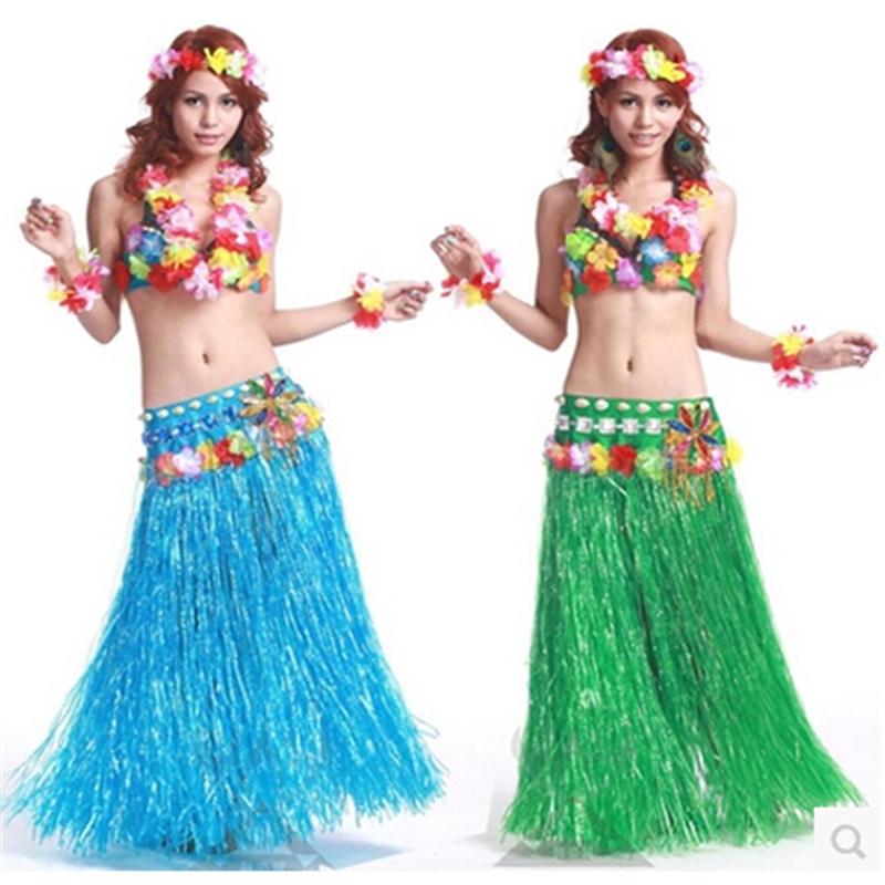 Grass beach dance activity skirt wreath bra garland china mainland
