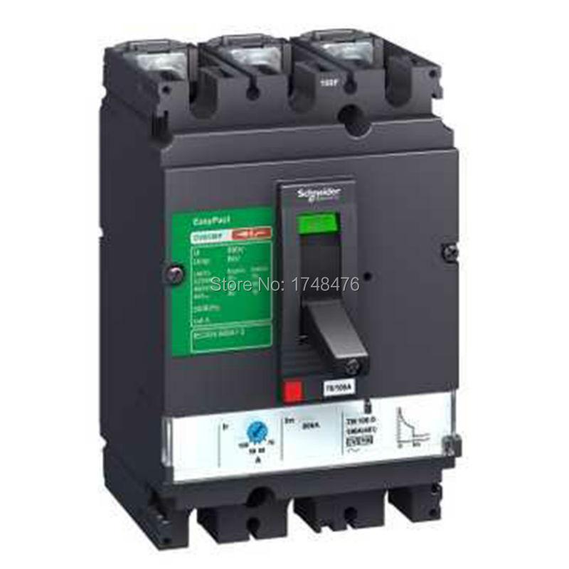 NEW LV510355 Easypact CVS CVS100F TM63D circuitbreaker 4P/4d