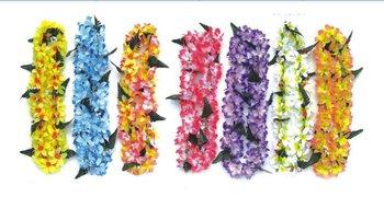 Free Shipping Party Supplies Hawaiian Flower Lei Garland/Hawaii Wreath Cheerleading Products Hawaii Necklace 50pcs/lot HH8028
