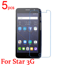 5pcs glossy/Matte/Nano anti-burst LCD Screen Protector Film Cover For Alcatel One Touch pop Star 3G 5022/X/D Film  +  cloth