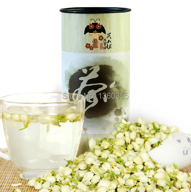 Гаджет  Top grade 80g china jasmine green tea chinese green jasmine tea the organic jasmine flower tea green for health care products None Еда