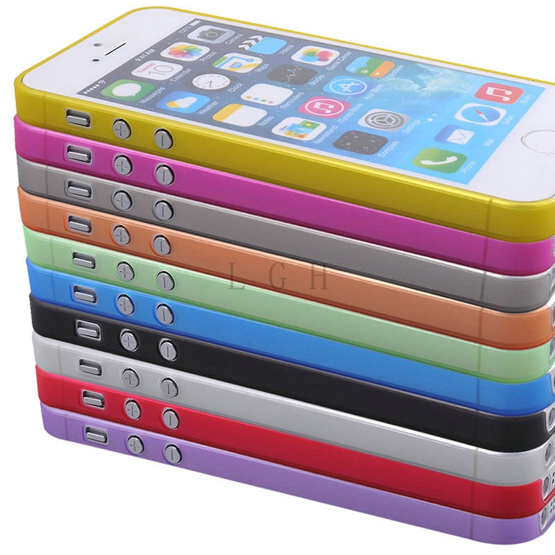 1Pcs New Style Ultra Thin Clear Cover for Apple iPhone 5S Case for iPhone5s 5 4 4S 5C 6 6S 6 plus Transparent Shell(China (Mainland))