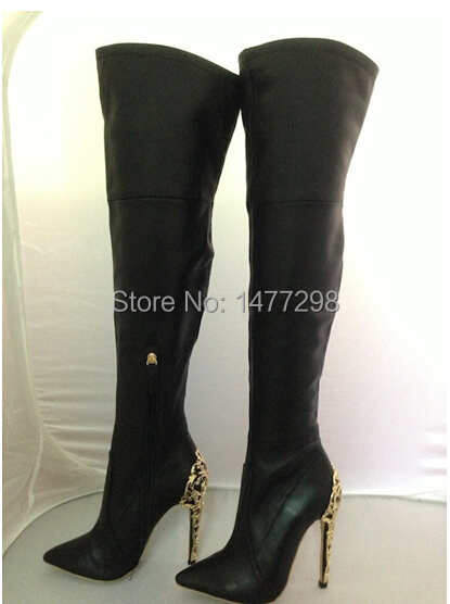 Sheepskin Australian Boots Famous Brand Women Genuine Leather Boots High Heel Suede Winter knee High Boots(China (Mainland))