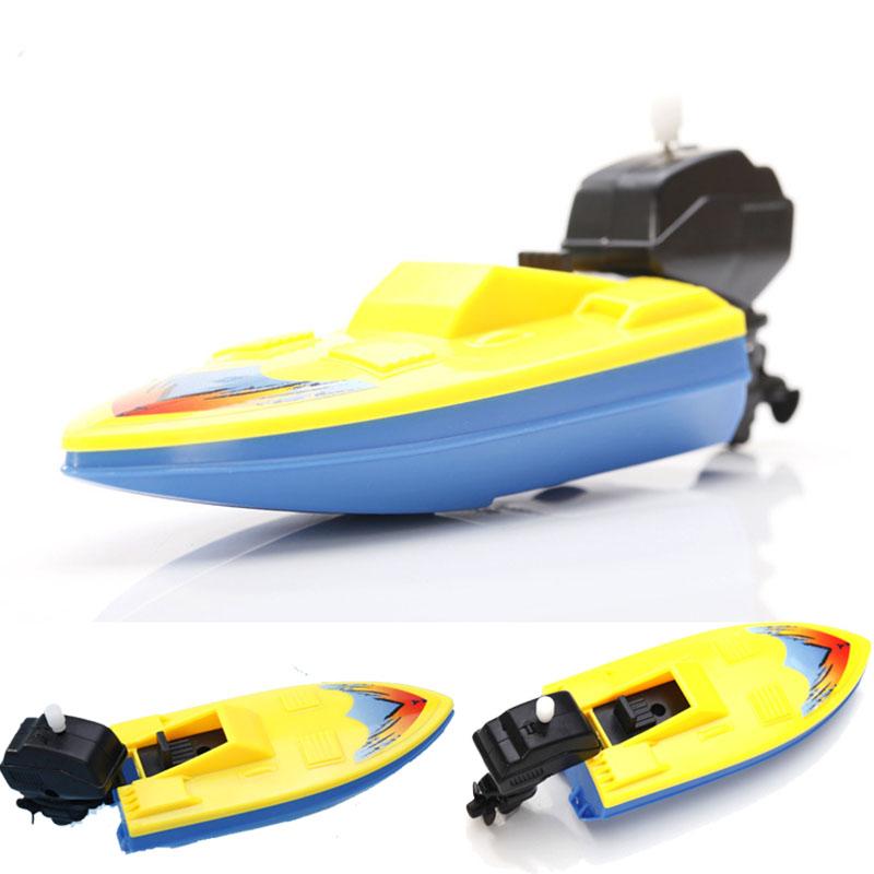 Funny New Baby Boat Cartoon Ship Toys Rally Floating Toys Wind Up Clockwork toy for bath toy Edutation sassy(China (Mainland))