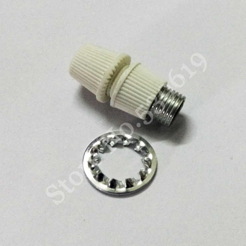 10Pcs Wire Clamp Cable Grip Wire and M10 Teeth Tube Tooth with Internal Toothed Washers(China (Mainland))