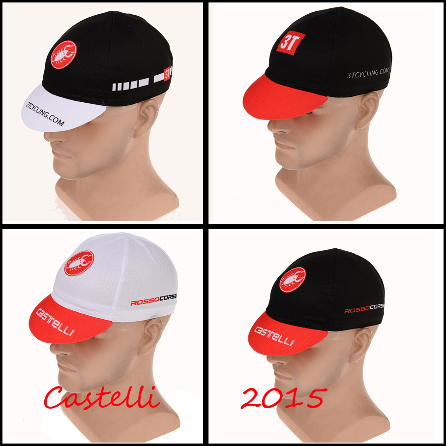 2015 New Castelli Men Women Sports Riding Cycling Bike Bicycle Road Cap Ciclismo Hat Roupa Ciclismo Headwear Helmet Scarf(China (Mainland))