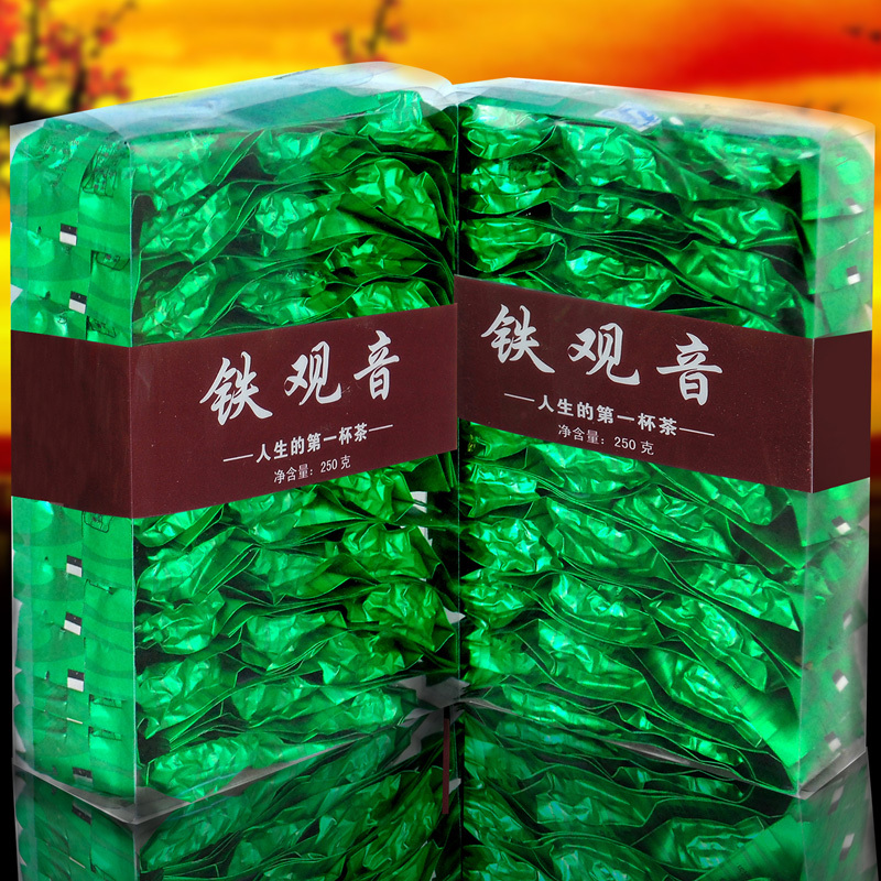 Free shipping Chinese tea Oolong Tie Guan Yin tea diet tea Luzhou Tieguanyin premium grade 250g