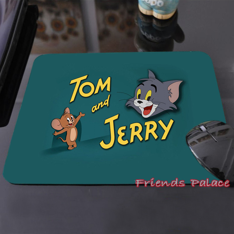 Best Sales Customized Mouse Pad Famous Cartoon Tom And Jerry Soft Funny Cute Mouse Mat Pretty Great Office Accessory and Gift!(China (Mainland))