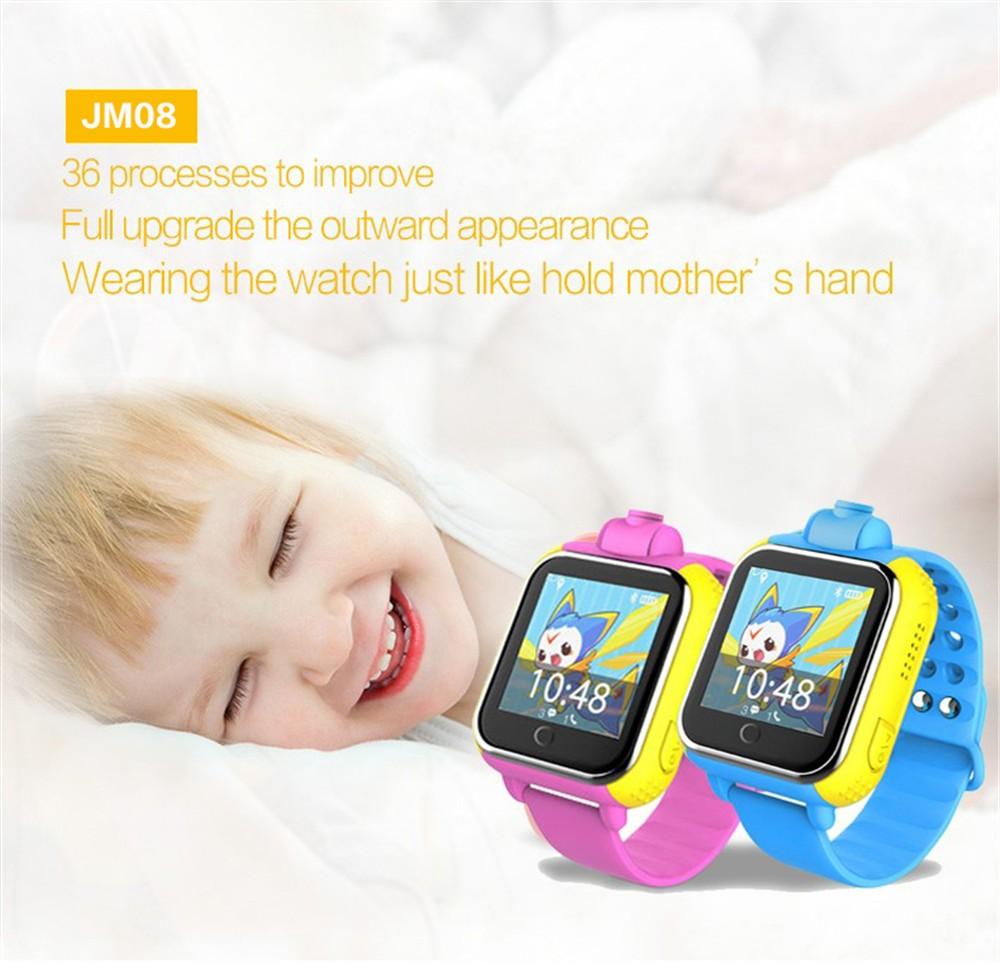 ถูก Jm13 3กรัมsmart watchกล้องgps lbs wifiสถานที่ตั้งสัมผัสหน้าจอเด็กนาฬิกาข้อมือSOSติดตามตรวจสอบปลุกสำหรับIOS A Ndroidโทรศัพท์