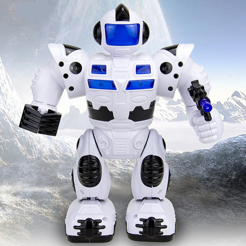 Electric Robot Toys Musical Space Walking Dancing Robot Rotating Dancer Music Light Electronic Pets For Children Birthday Gifts(China (Mainland))