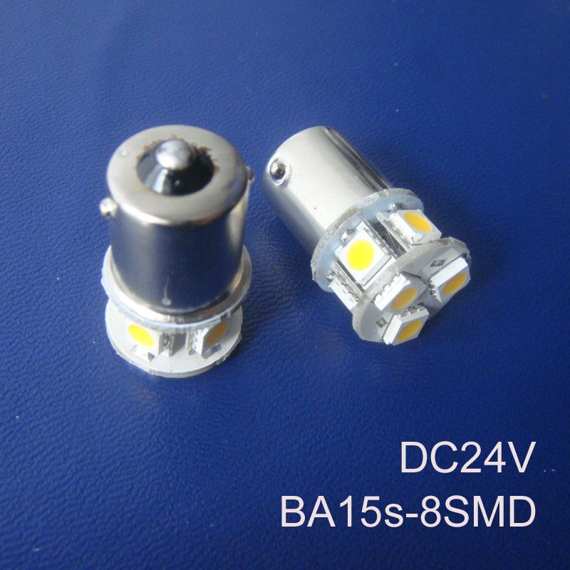 High quality 24V 1156 Truck led bulbs BA15s BAU15s P21W R5W goods van led lamps 24V BAU15s 1141 led bulbs free shipping 5pcs/lot(China (Mainland))