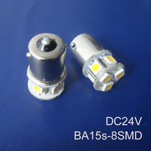 High quality 24V 1156 Truck led bulbs BA15s BAU15s P21W R5W goods van led lamps 24V BAU15s 1141 led bulbs free shipping 5pcs/lot(China (Mainland))